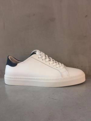 calf white+suede navy bs logo