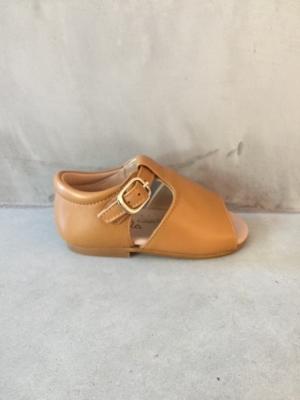 nappa sandalia madeira logo