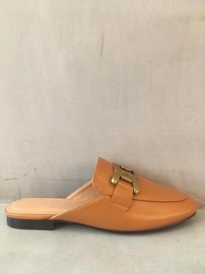 slipper met ketting logo