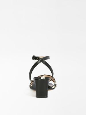 sandaal zwart zwart