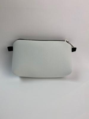 pouch bianca mini nylon logo