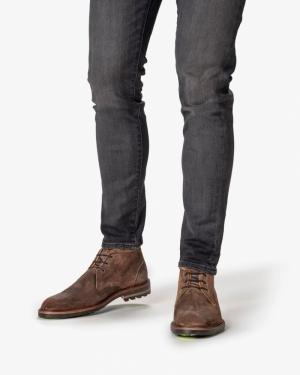 geklede schoen Van Bommel logo